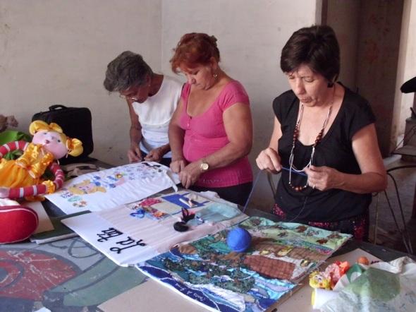 Integrantes del Proyecto Comunitario Carsueño