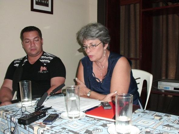 Irma Horta, directora de cultura provincia de Camagüey
