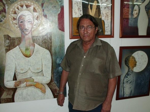 La espiritualidad y el amor a la mujer en proyecto cubano de pinturas