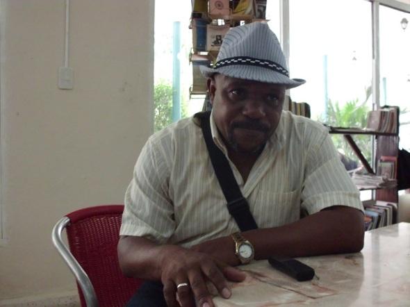 Trovador cubano Antonio Batista