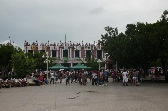 Ciudad del oriente cubano nuevamente capital mundial del arte jovenl. Foto Lázaro David Najarro