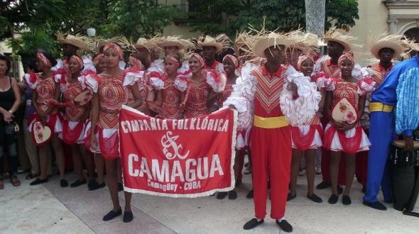Compañia Folklórica Camagua . Foto Lázaro D. Najarro P