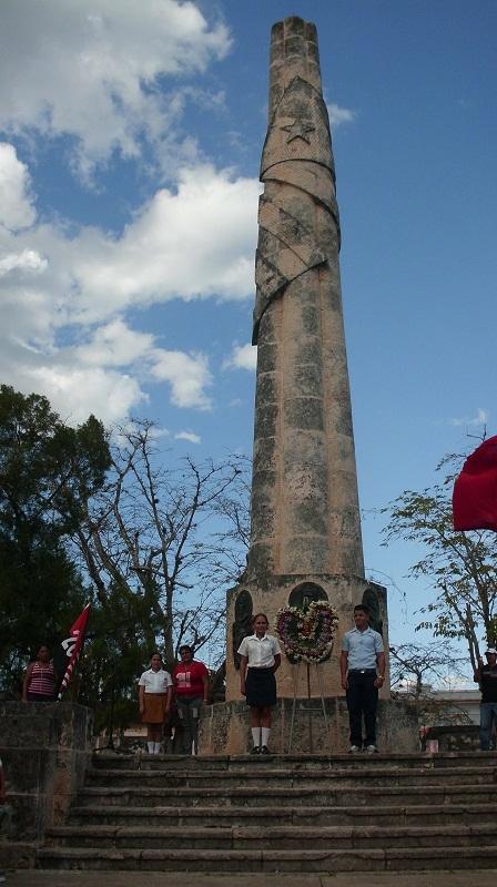 Monumento erigido en 1944