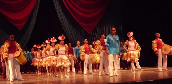 Compañía Folkltótica de Camagüey. Foto Lázaro david Najarro
