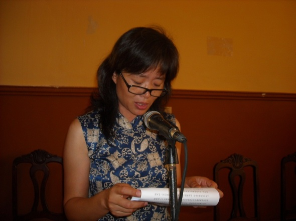 Consejera Cultural de la Embajada de la República Popular China en Cuba, Sra Gan Ping