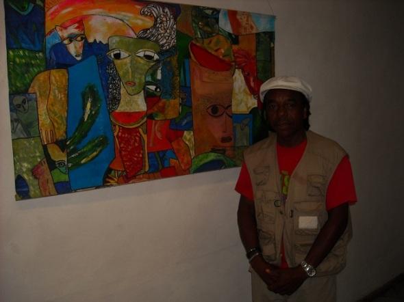 El Caribe según mi visión, del artista de la plástica Rodrick Dixon