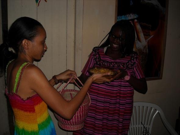 Jovenes africanos qu estudian en Camagüey