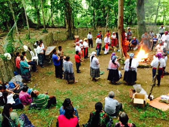 Aniversario 24 de la fundación  de la Asociación Oxlaju K'at