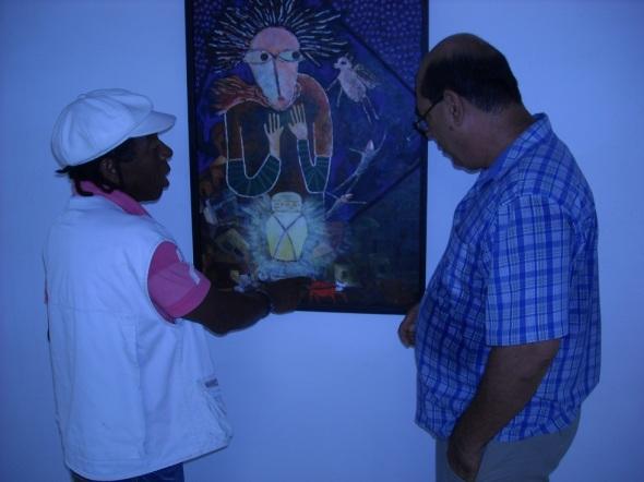 Representacion pictórica de uno de los cuentos ppopulares jaimaicanos