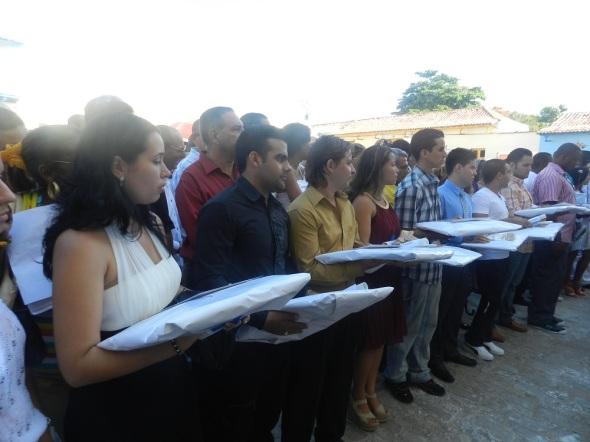 Graduación 43 de la universidad camagüeyana