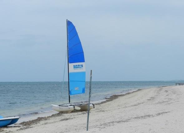 Playa de arena blanca y fina