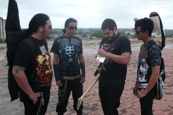 Bandas de Rock cultivadoras del metal extremo en Camagüey