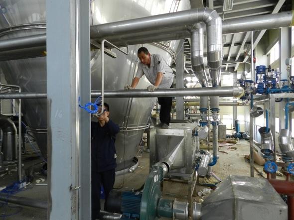 Fábrica de leche en polvo, unica de su tipo en Cuba y una industria de alta tecnología.Foto Lázaro David Najarro