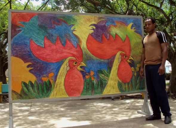 Mural Rey de los Campos