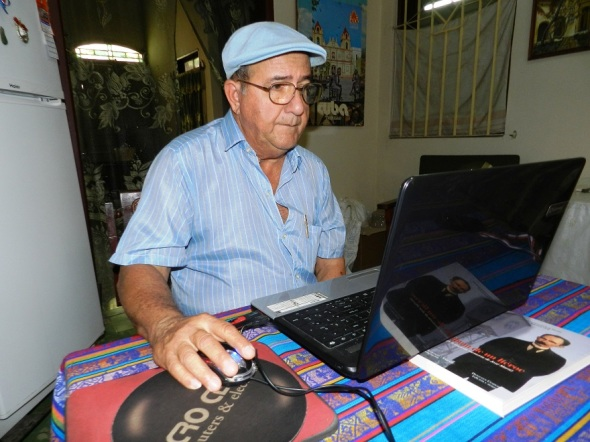 Oscar Viñas. Foto Lázaro D. Najarro