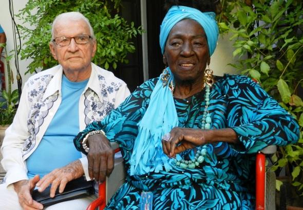 Candita Batista y Servando Vázquez. Foto Lázaro David Najarro
