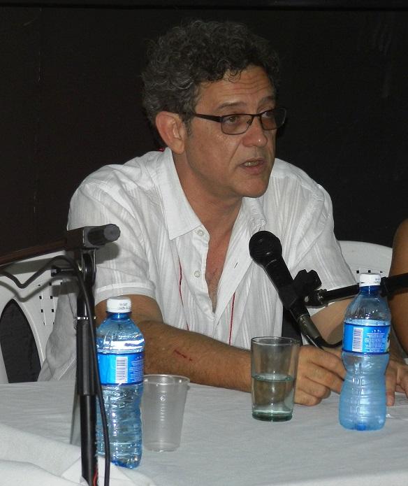 Cássio Pinheiro, coordinador general del Festival de Teatro, Palco, Rua de Belo Horizonte Brasil