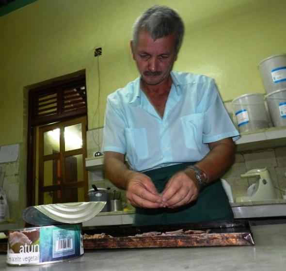 Chef de cocina, el austriaco Josef Leopold Haderer, se graduó en Cuba de abogado.