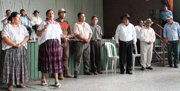 primera Asamblea general del Congreso Maya Q'eqchi'' y Poqomchi'