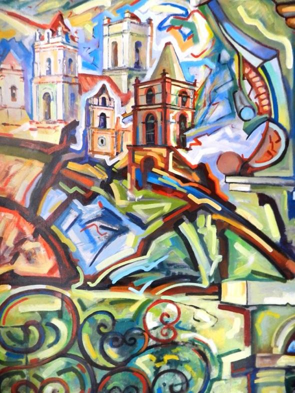 Sin titulo. Autor René de la Torre. Dimensiones 75 x 90 cm
