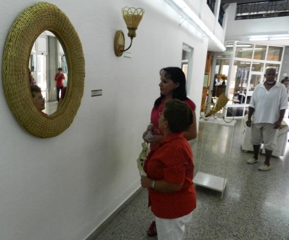 Un marco de espejo