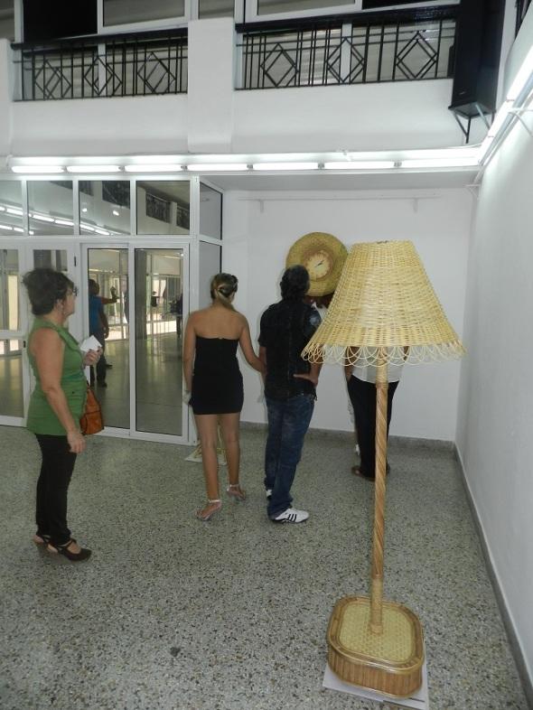 Una lámpara
