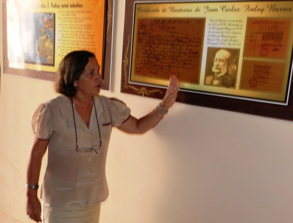 Directora de la Casa Museo