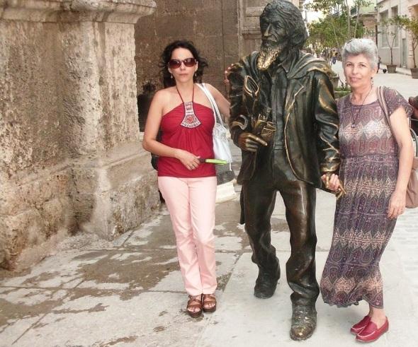 El Caballero de Paris en La Habana Vieja