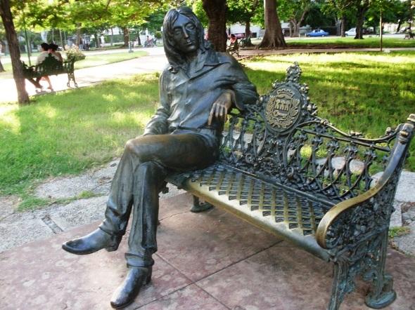 John Lennon en el corazón de La Habana
