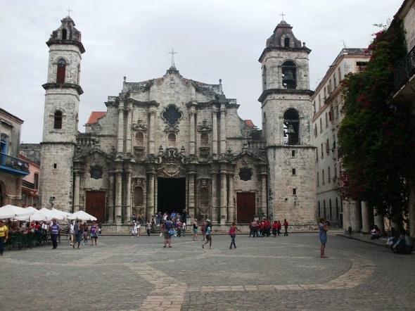 La Catedral de San Cristóbal de La Habana