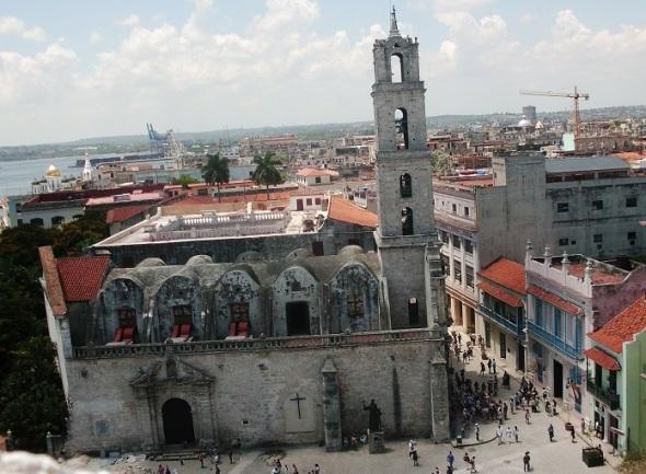 La Habana Vieja y el sistema de fortificaciones