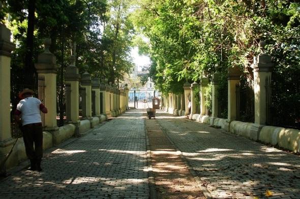 La Quinta de los Molinos, dedicada al Jardín botánico de La Habana