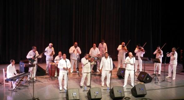Orquesta Aragón. Foto Lázaro David Najarro