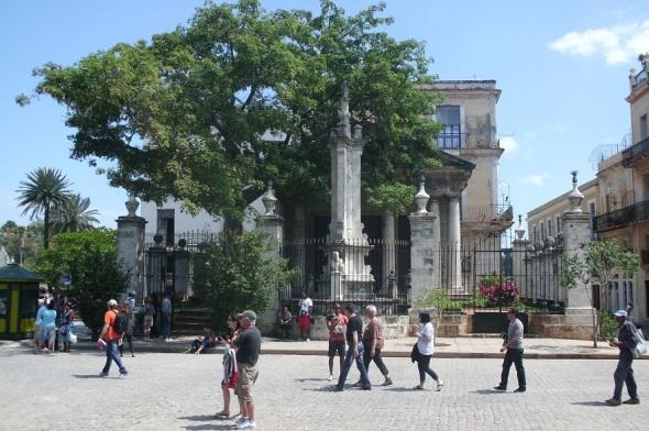 Sitio histórico de La Habana, el Templete