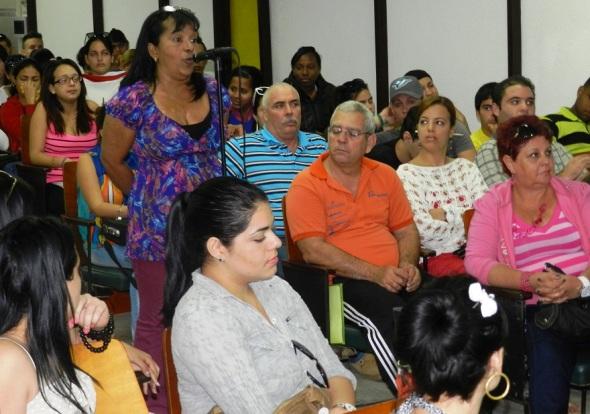 Encuentro en la Universidad de Camagüey