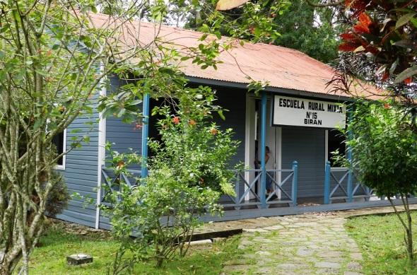 Escuela Rural No.15 donde estudió Fidel Castro