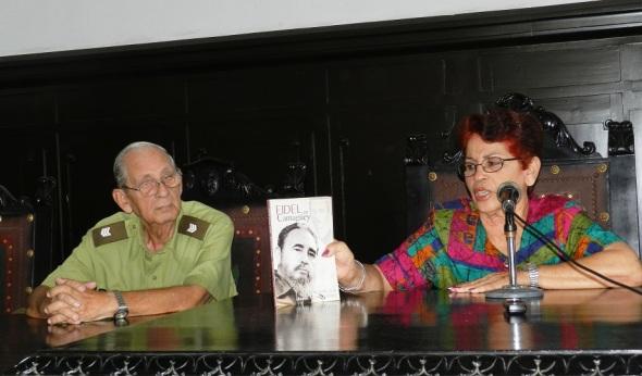 Fidel en Camagüey, sus autores Rolando García y Cándida Pedrosa