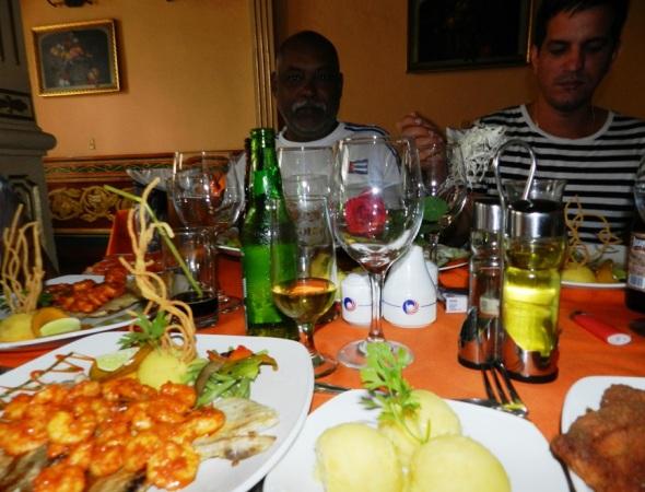 Una cena gourmet para recordar