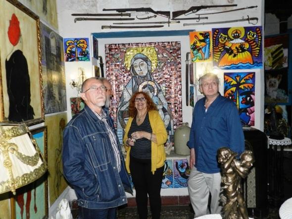 Visita una casa galeria en Camagüey