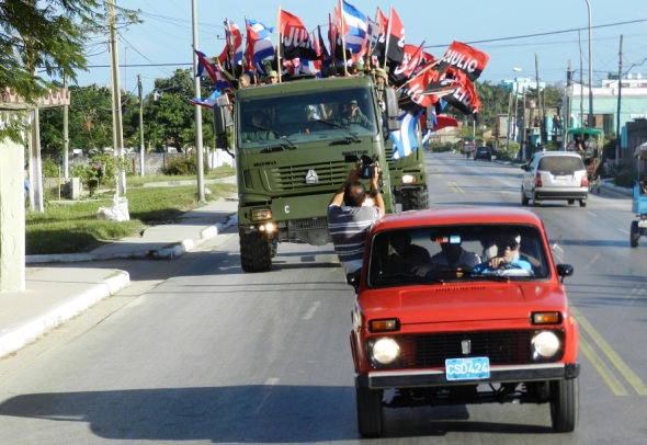 Arribo a Camagüey de la Caravana de la Liebrtad
