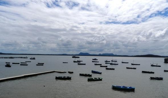 Hermoso ´paisaje en la Bahía de Gibara. Holguín, Cuba