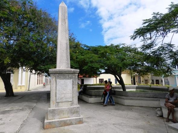 Parque en Gibara