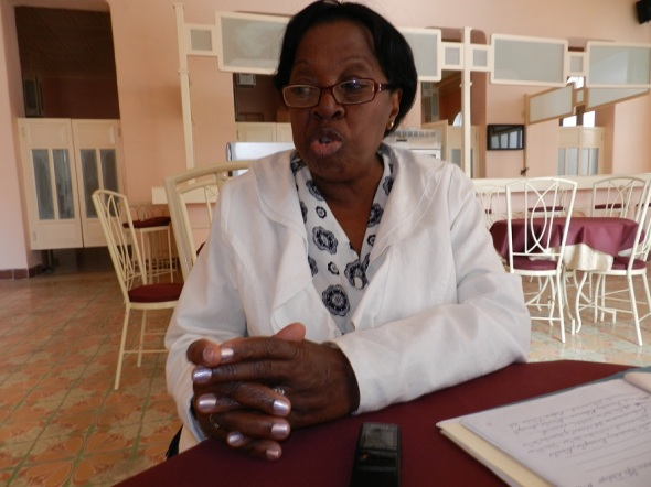 Presidenta del comité cubano Ruta del Esclavo resistencia, libertad y patrimonio, Rosa María Rodríguez