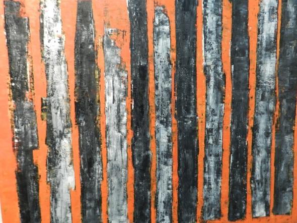 Uno a uno de la serie Ruda. Autor Joel González Pallerols. D 150 x 120 cm