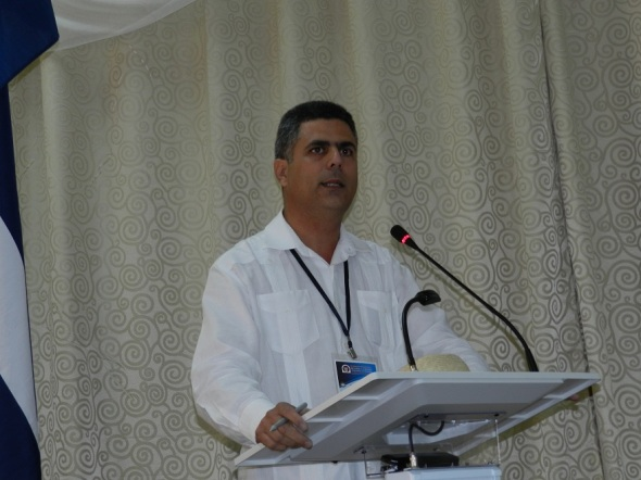 Director de desarrollo del Ministerio de Turismo de Cuba,  Alexander Sierra