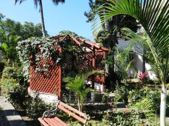 Jardin en la Casa Quinta Simoni