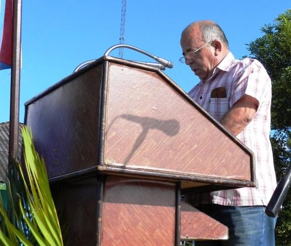 Juan José Blanco, director nacional de la rama forestal, del Ministerio de la Agricultura