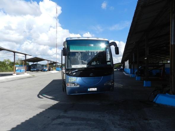 La Yutong casi una década circualando por carreteras cubanas