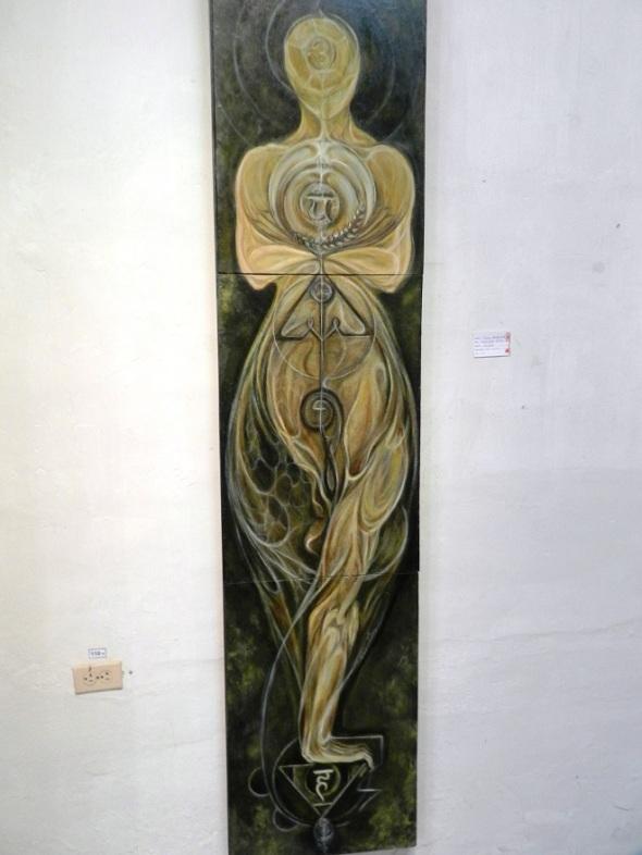 Obra Instante perfecto del ideal, autora Jenny Hernández. D. 47x220 cm