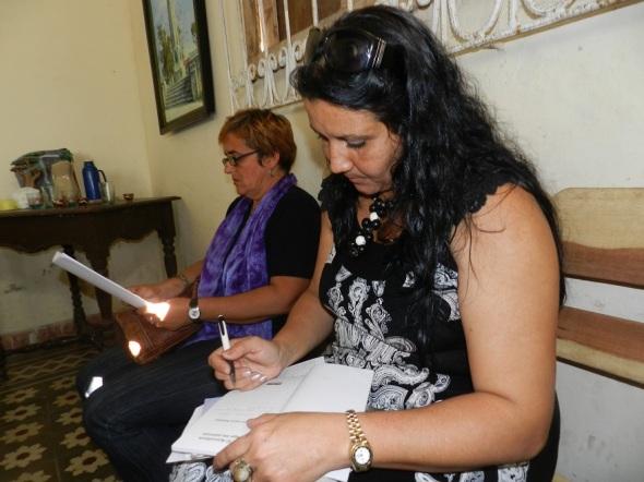 Odalys Leyva, promotora del proyecto comunitario de alcance internacional Décima al Filo